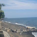 plage devant bungalow