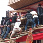 fin de la procession