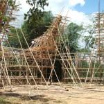 Constructions temporaires pour cérémonie