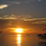 sunrise depuis notre pension