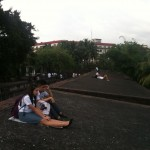 parc Rizal...Le RV des amoureux