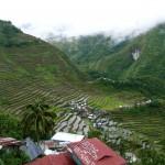 vue depuis notre guesthouse à Batad