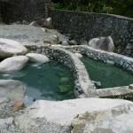 hot springs de Hapao...niquel après avoir bien marché!!