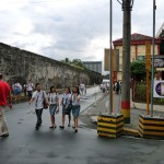remparts Intramuros - parc Rizal
